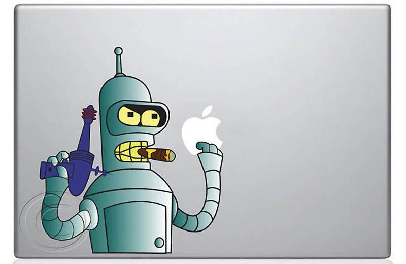 3029 50 креативных наклеек на MacBook
