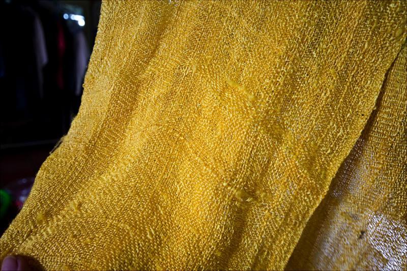 306 Как получаются шелковые нити