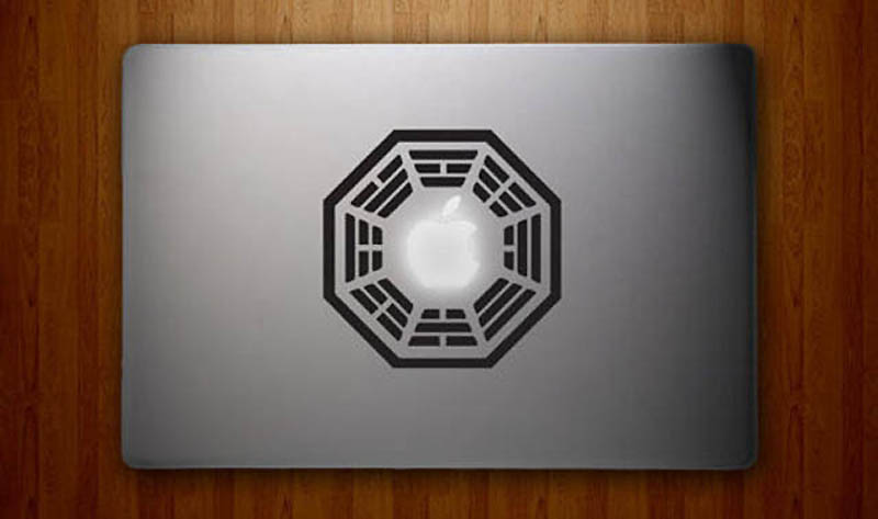 31101 50 креативных наклеек на MacBook
