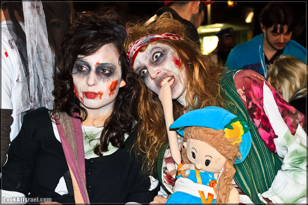 3114 Зомби на улицах Тель Авива – Zombie Walk Tel Aviv