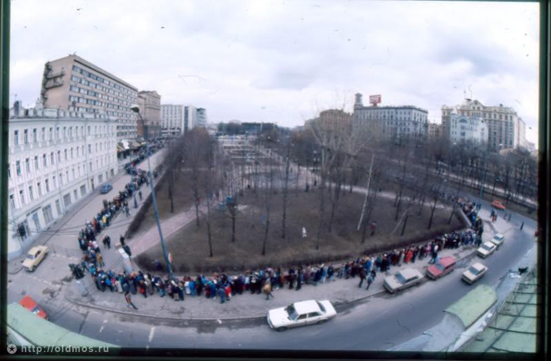 3115 История московской очереди в фотографиях
