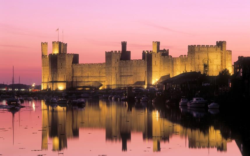 3154 Прекрасные замки Британии