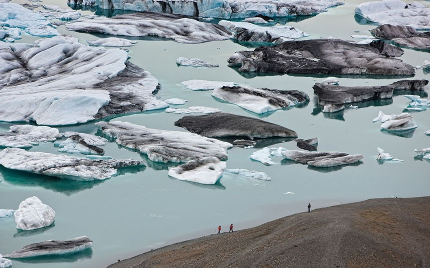 3161 Голубые айсберги и ледники Исландии