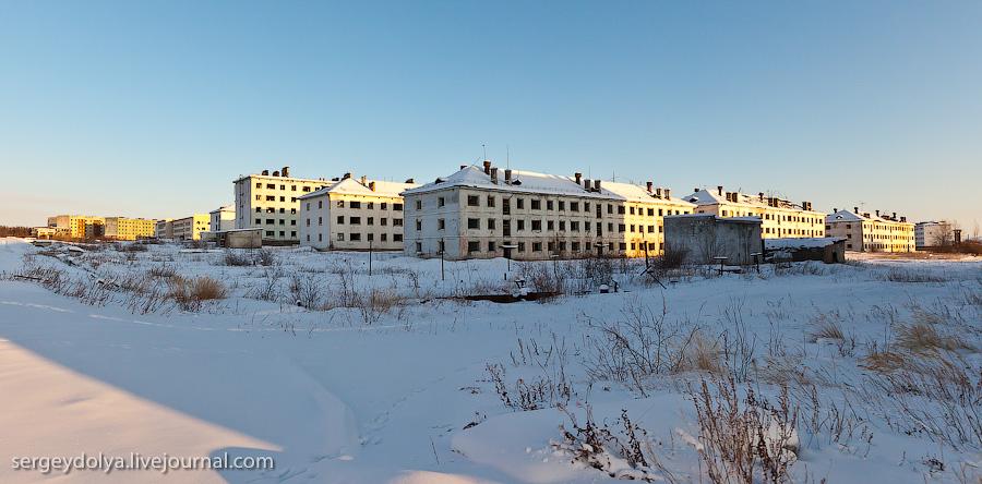 3195 Заброшенный город Кадыкчан на Чукотке