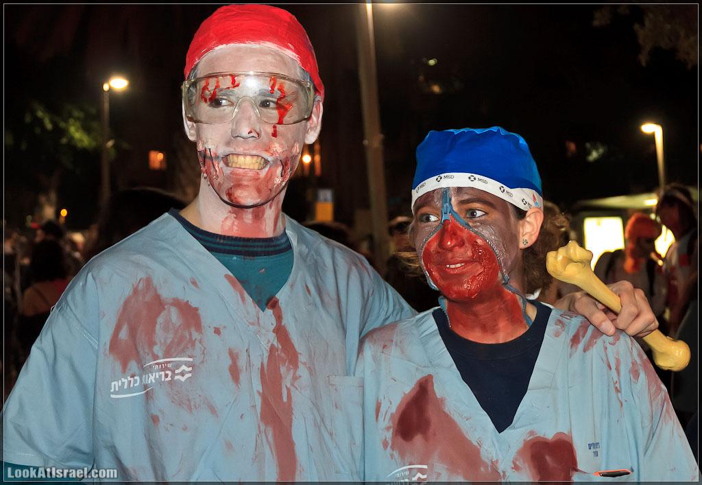 3213 Зомби на улицах Тель Авива – Zombie Walk Tel Aviv