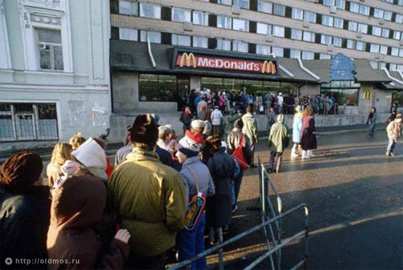 3214 История московской очереди в фотографиях