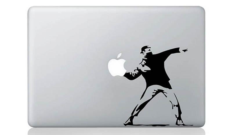 3229 50 креативных наклеек на MacBook