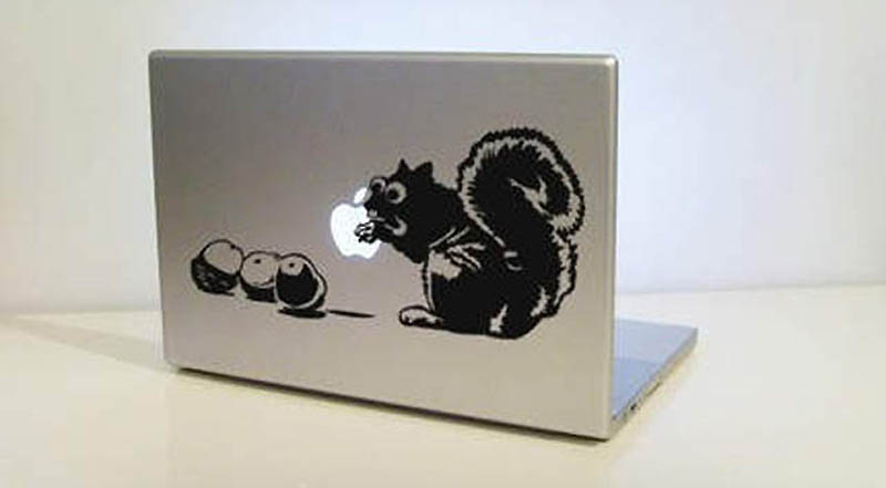 3230 50 креативных наклеек на MacBook