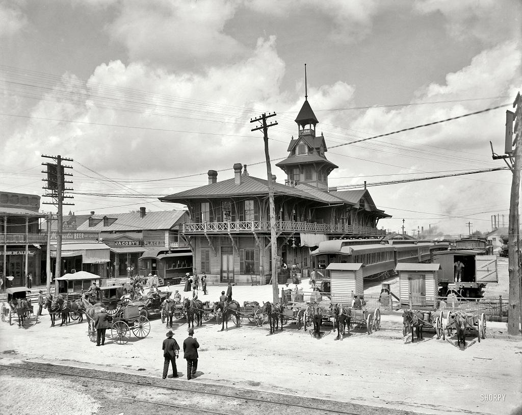 3253 Американские мегаполисы сто лет тому назад