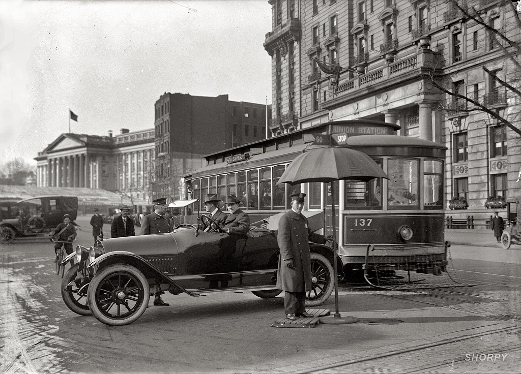 3254 Американские мегаполисы сто лет тому назад