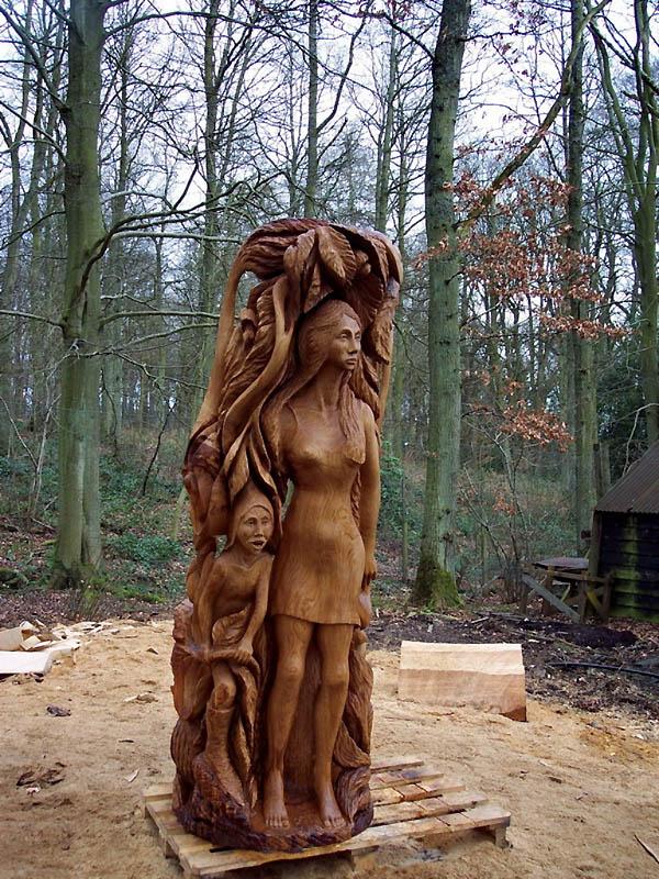 326 Вторая жизнь срубленных деревьев