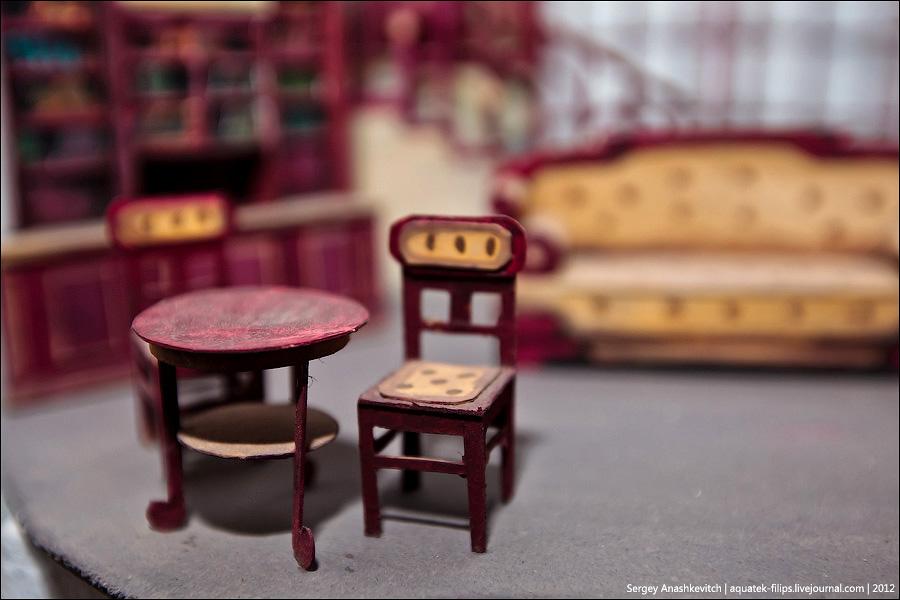 3260 Закулисье или Выставка миниатюрных театральных декораций