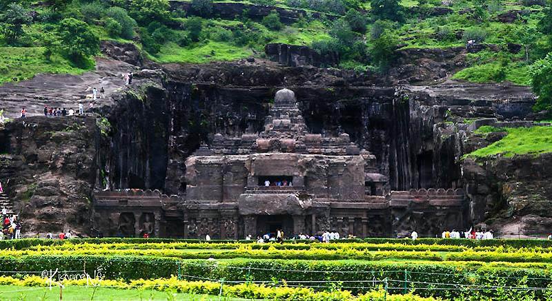 330 Эллора пещерные храмы Индии