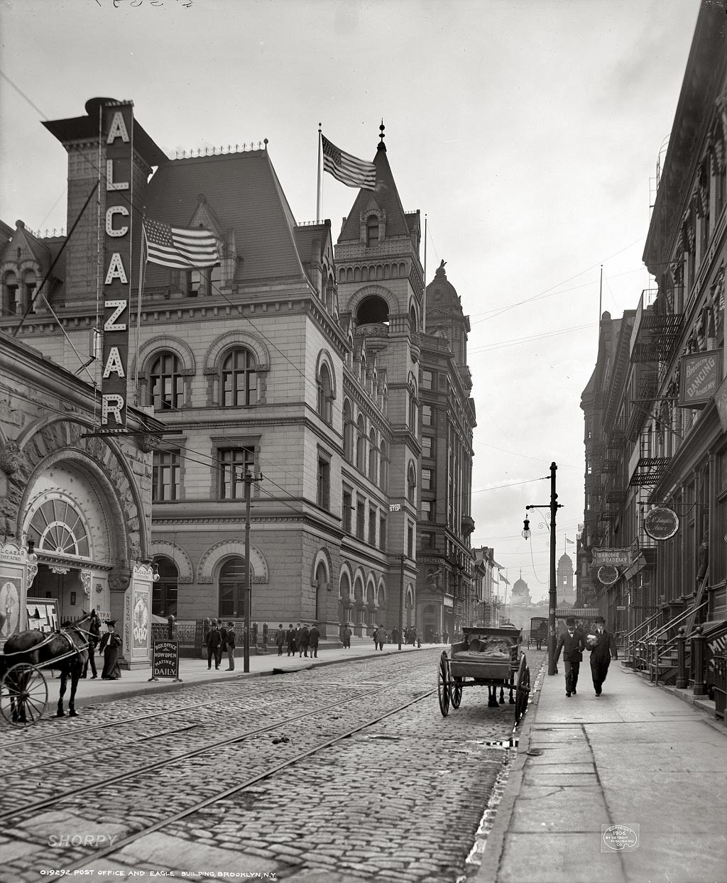 3331 Американские мегаполисы сто лет тому назад