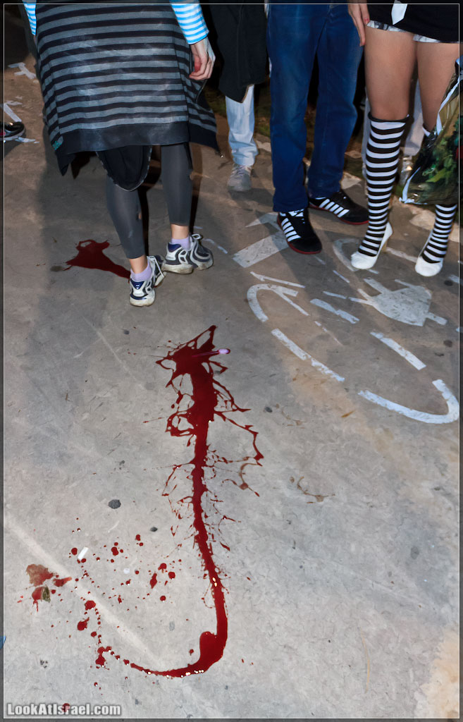 3411 Зомби на улицах Тель Авива – Zombie Walk Tel Aviv