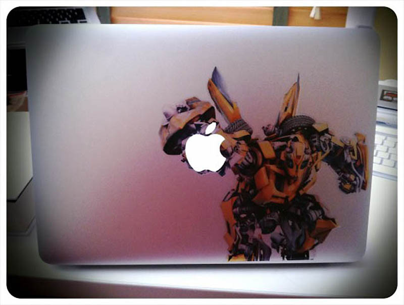 3424 50 креативных наклеек на MacBook