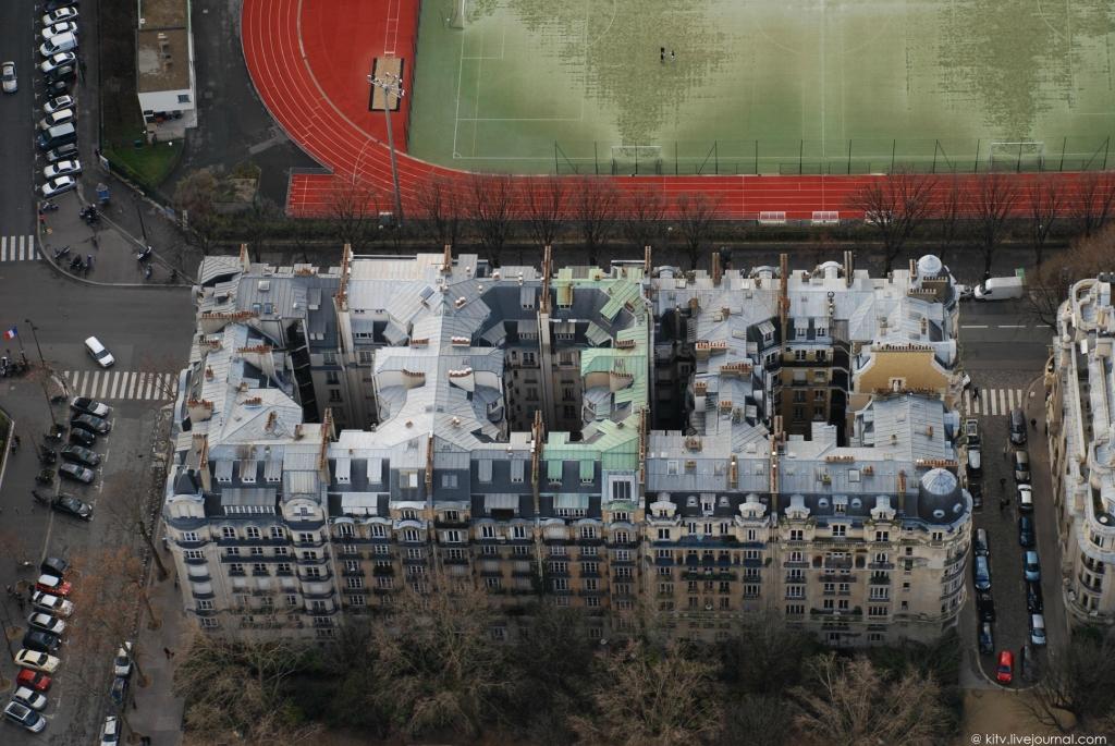 3516 Как выглядит Париж с Эйфелевой башни?