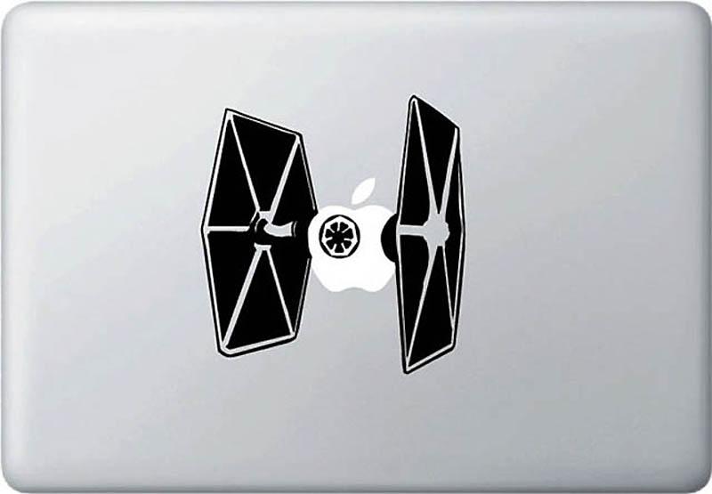 3522 50 креативных наклеек на MacBook