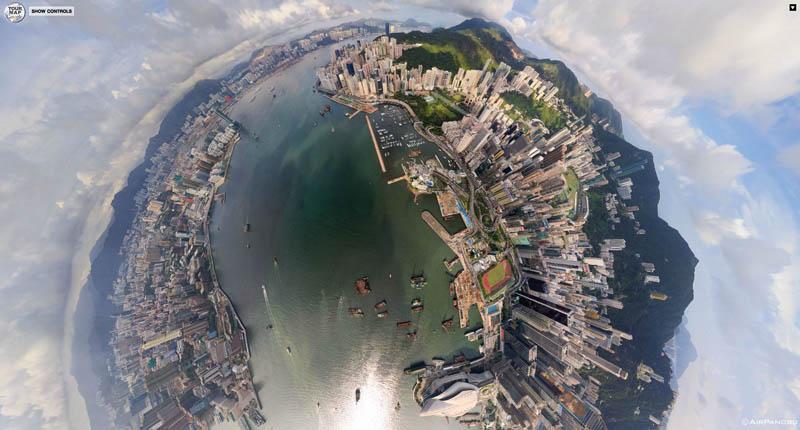 370 Топ 10 панорамных фото городов мира