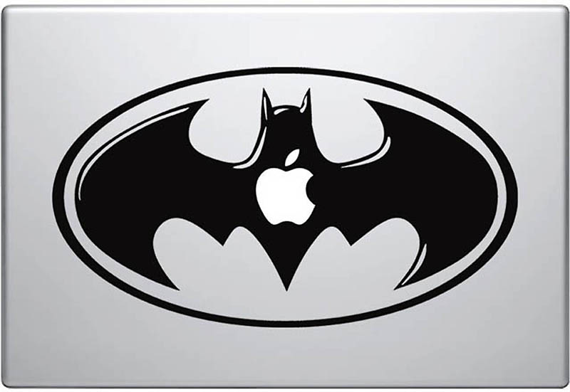 3722 50 креативных наклеек на MacBook
