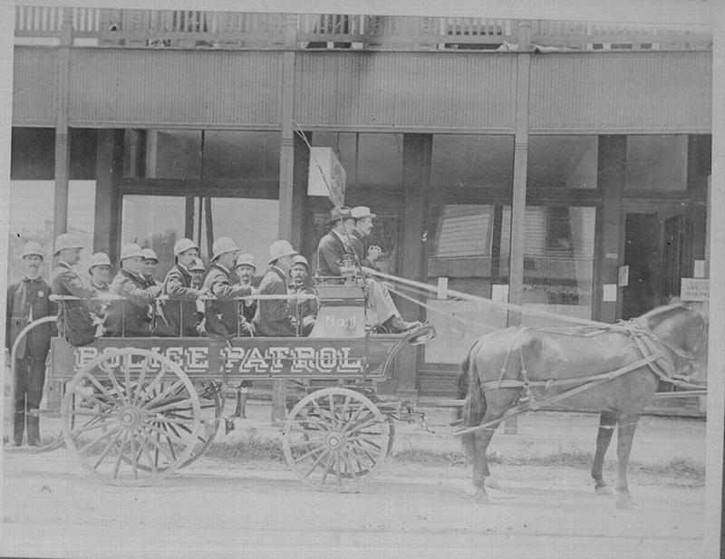 3725 Полицейские, 1890 е   1930 е.