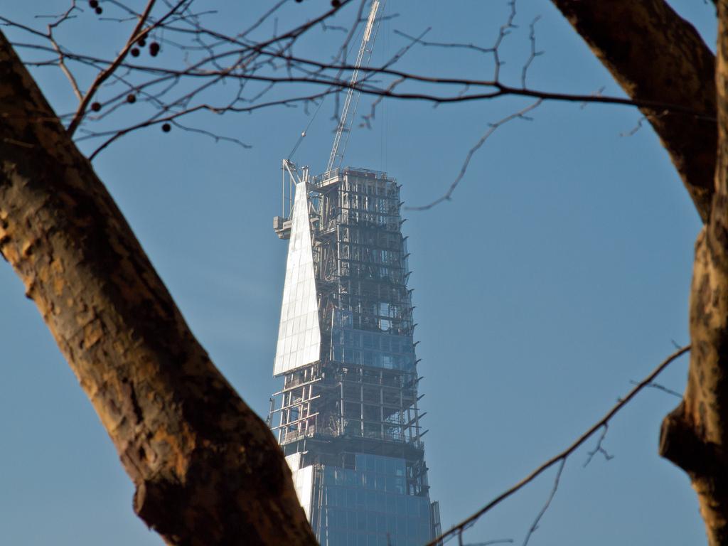378 Строительство небоскреба Shard London Bridge