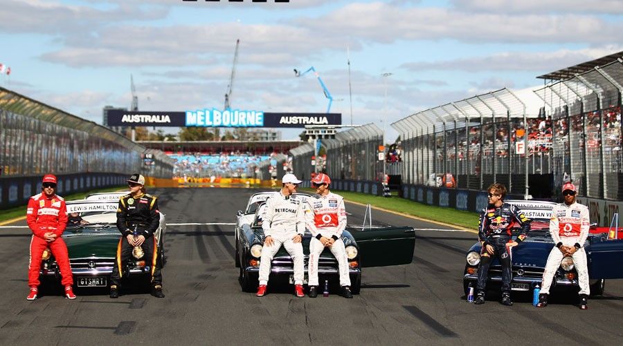 3818 За кулисами Гран При Австралии 2012: фоторепортаж