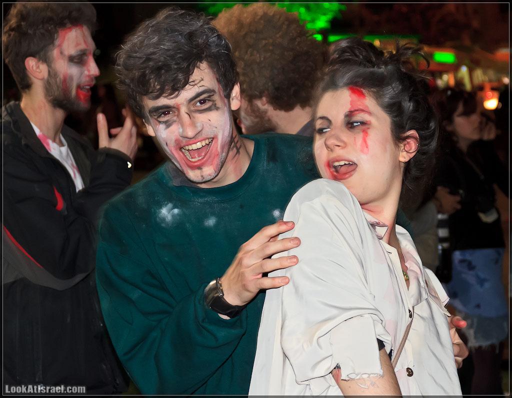 389 Зомби на улицах Тель Авива – Zombie Walk Tel Aviv