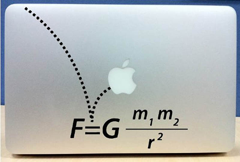 3920 50 креативных наклеек на MacBook