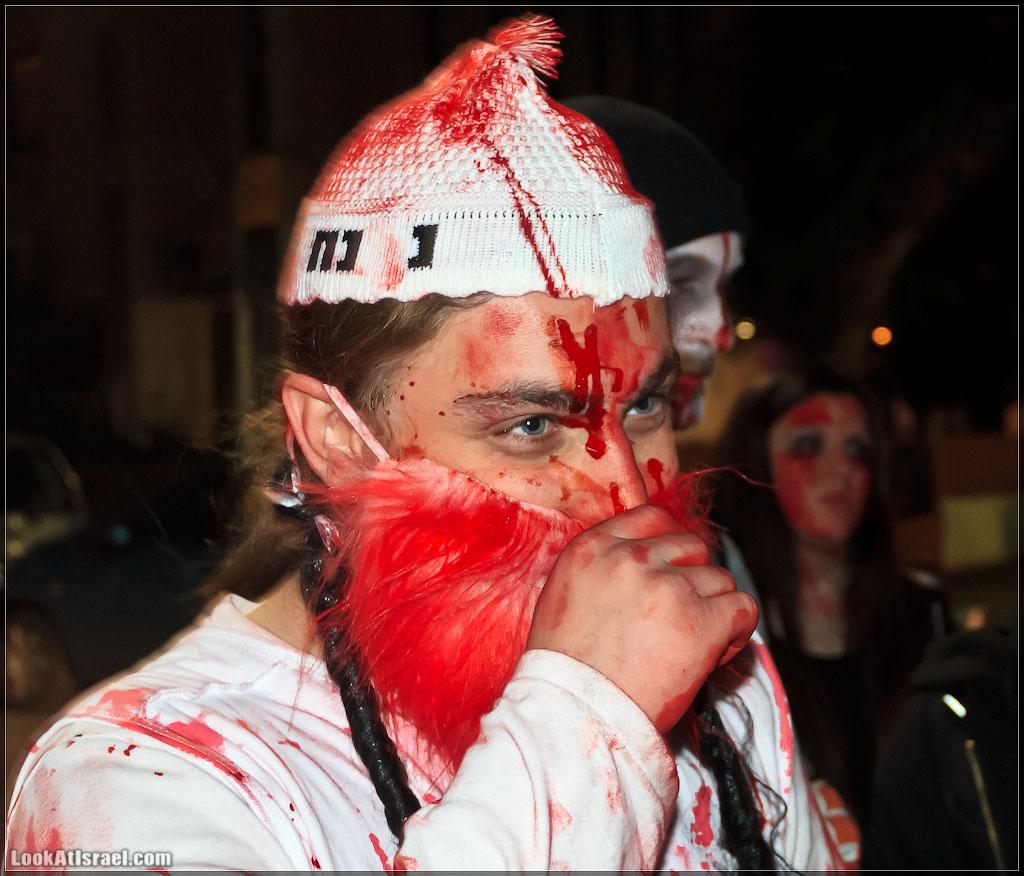 393 Зомби на улицах Тель Авива – Zombie Walk Tel Aviv