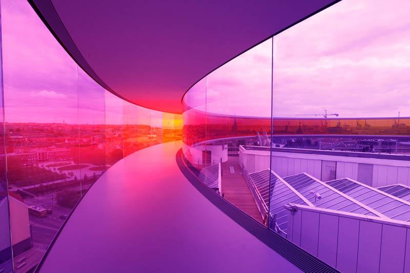 395 Новая достопримечательность Дании: Радужная панорама