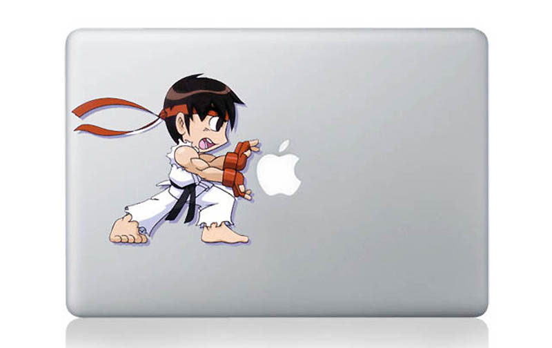 4013 50 креативных наклеек на MacBook