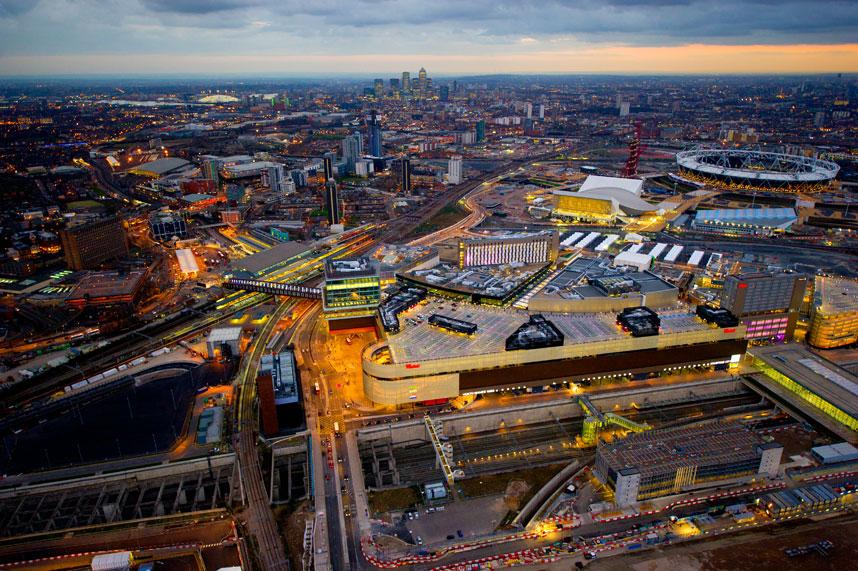 4116 Энергопотребляющий Лондон с высоты птичьего полета