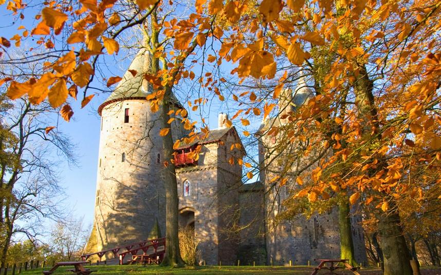 4126 Прекрасные замки Британии