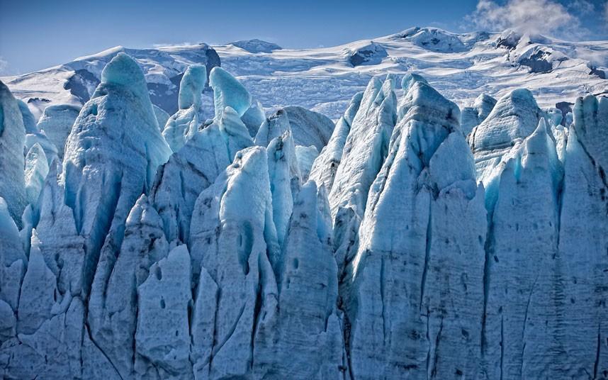 4133 Голубые айсберги и ледники Исландии