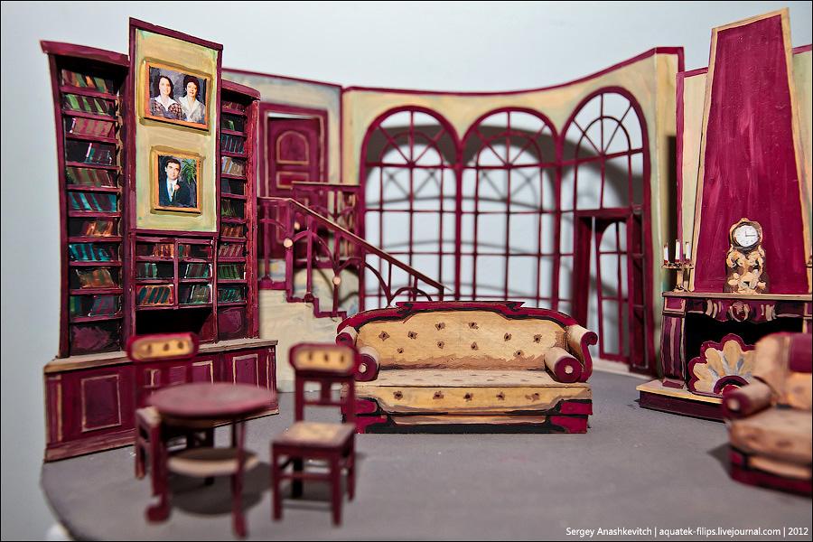 4207 Закулисье или Выставка миниатюрных театральных декораций