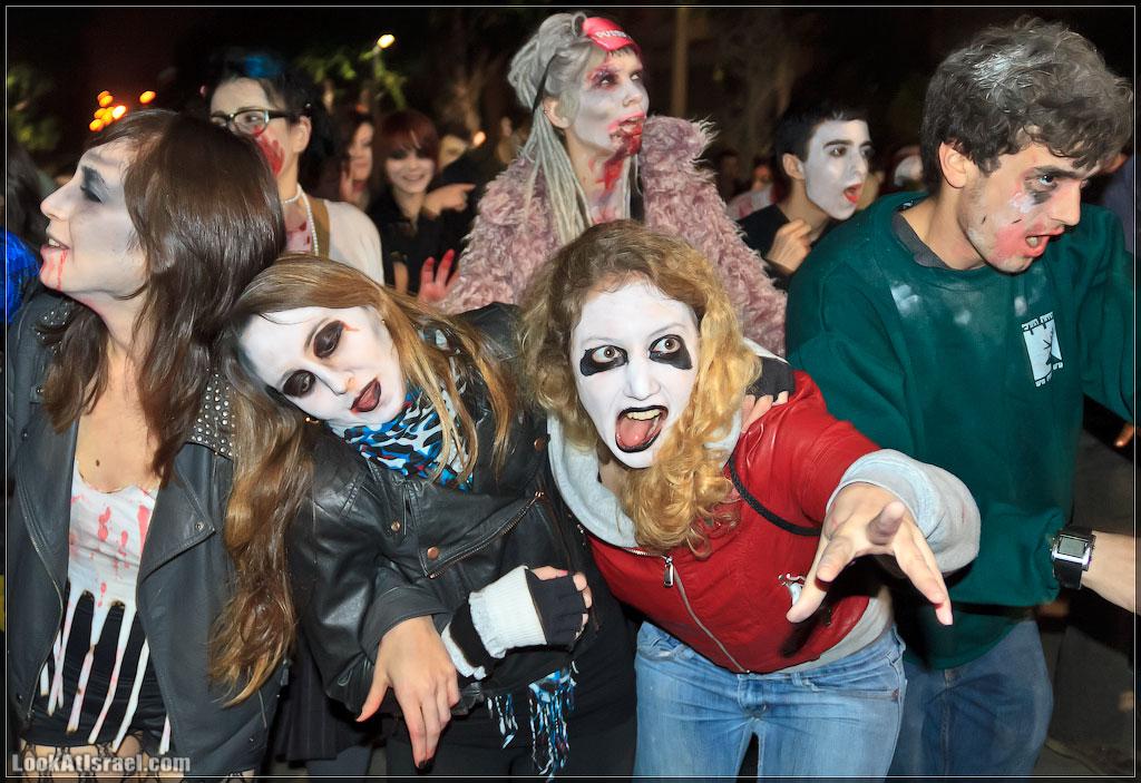4210 Зомби на улицах Тель Авива – Zombie Walk Tel Aviv