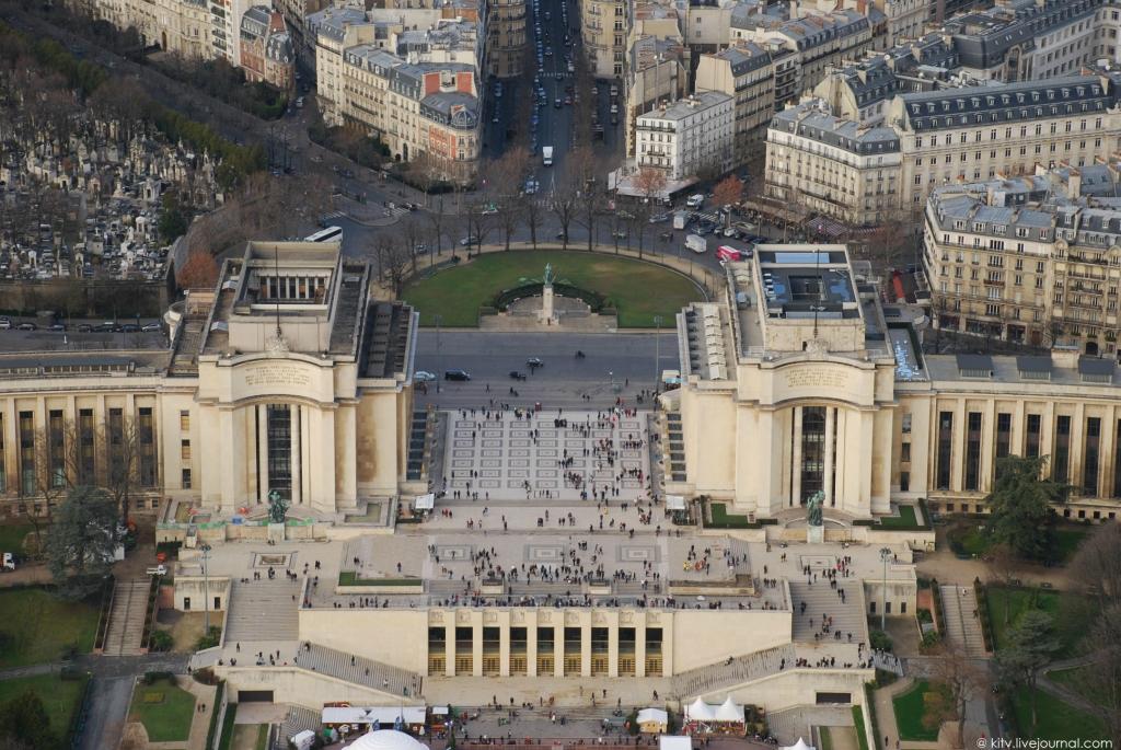 4215 Как выглядит Париж с Эйфелевой башни?