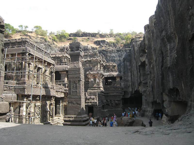 427 Эллора   пещерные храмы Индии