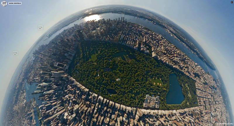 450 Топ 10 панорамных фото городов мира