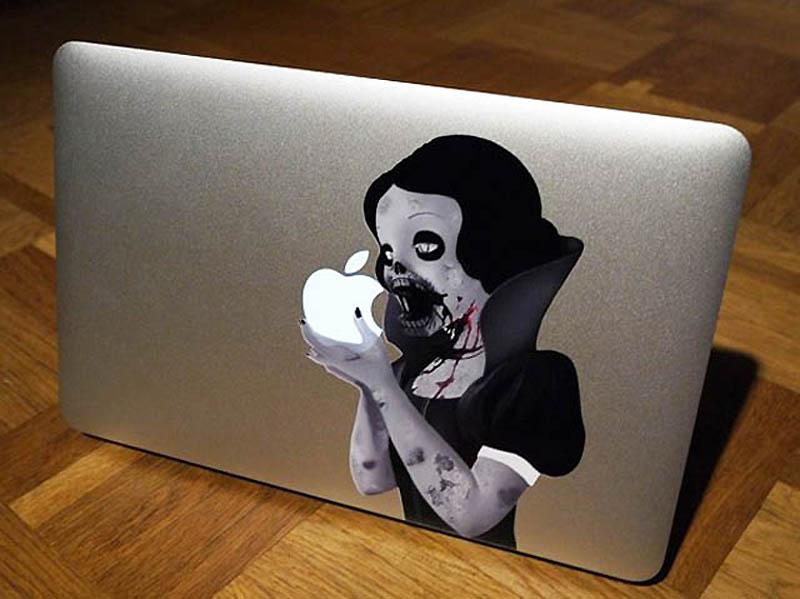 4515 50 креативных наклеек на MacBook