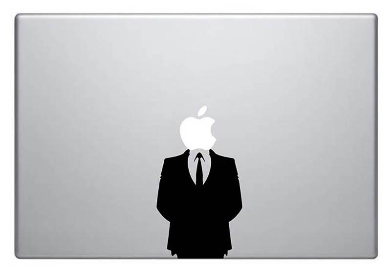 4614 50 креативных наклеек на MacBook