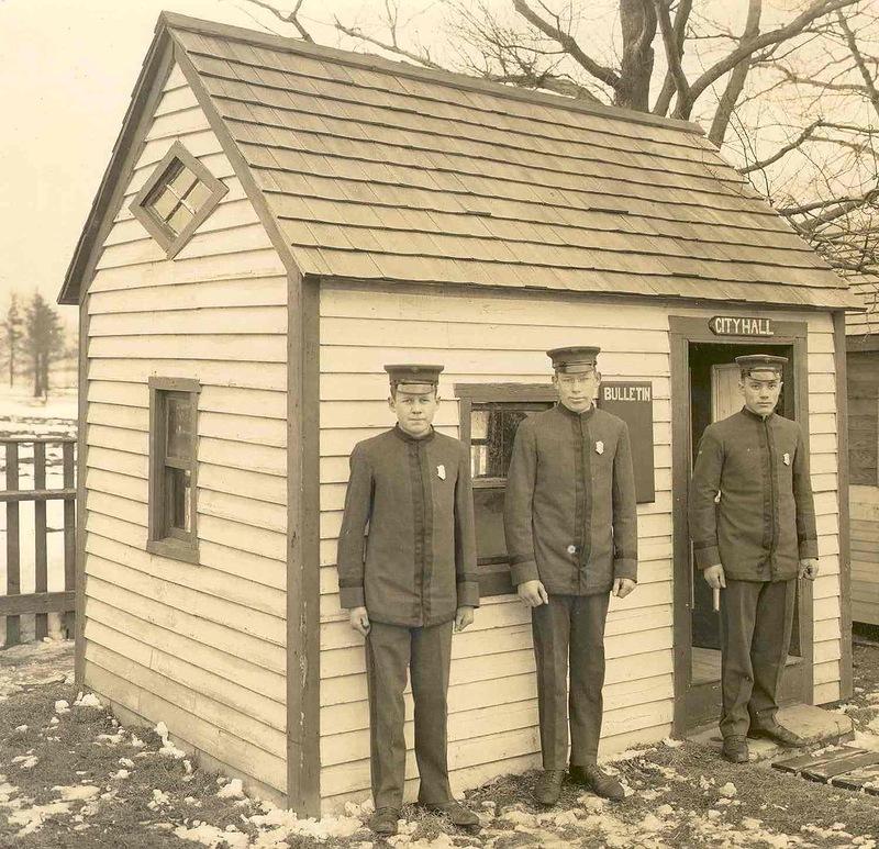 4616 Полицейские, 1890 е   1930 е.