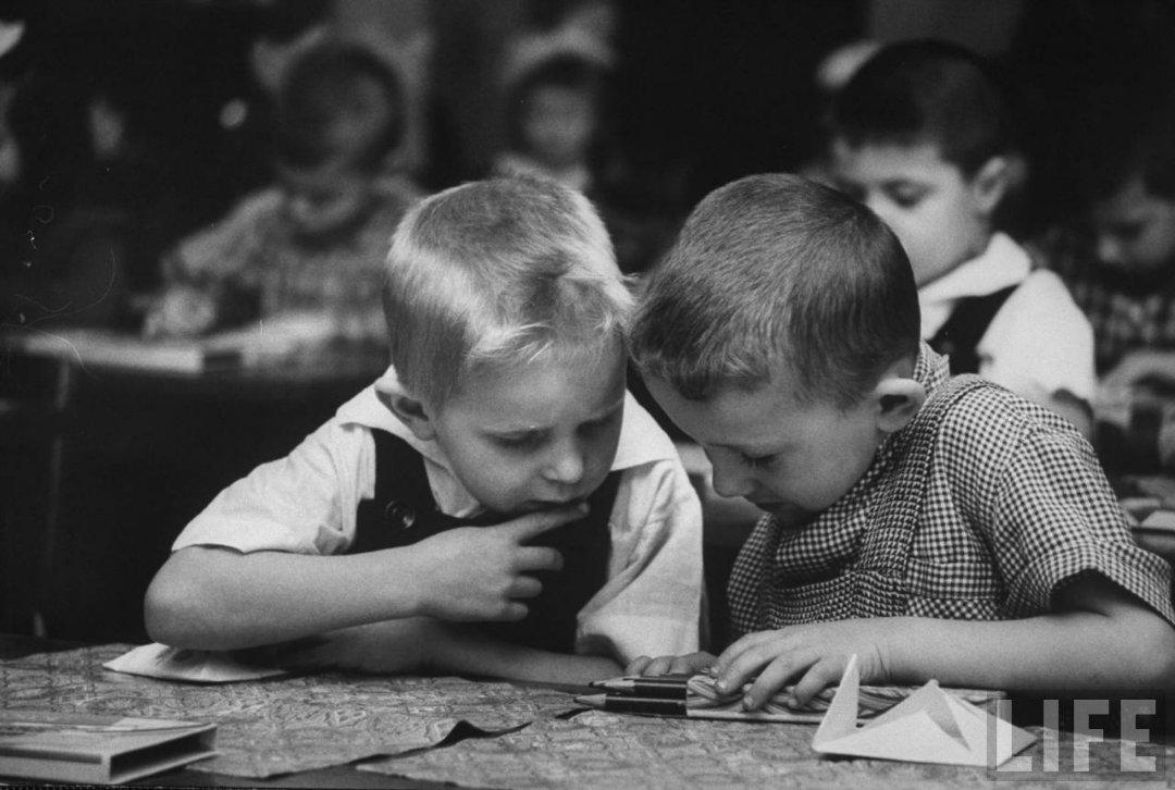 4641390d88a9 Жизнь советского детского сада в 1960 году глазами фотографа Life