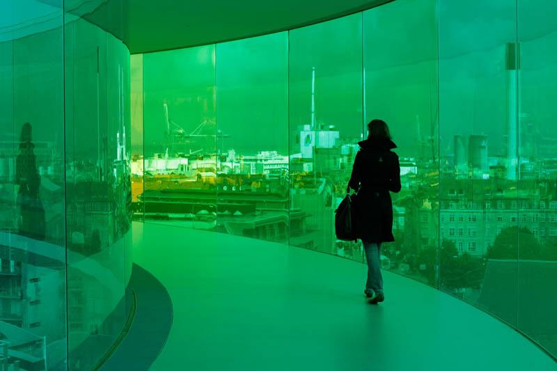 467 Новая достопримечательность Дании: Радужная панорама