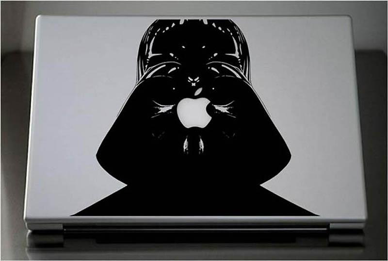 4714 50 креативных наклеек на MacBook