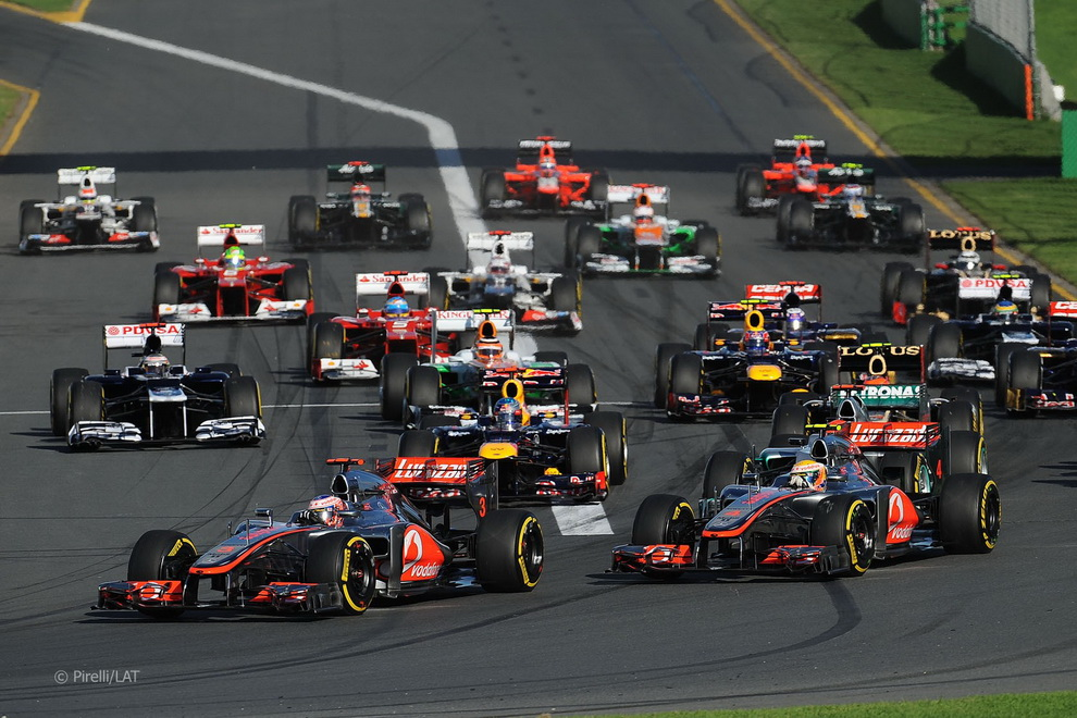 4811 За кулисами Гран При Австралии 2012: фоторепортаж