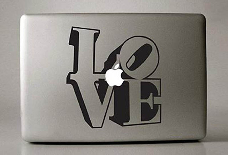 4812 50 креативных наклеек на MacBook