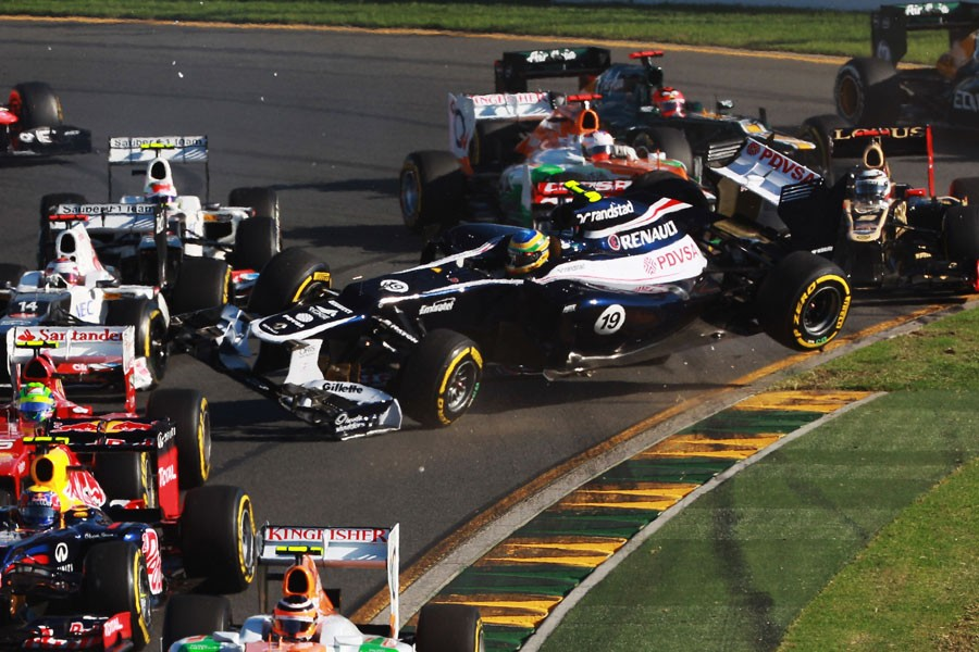 4910 За кулисами Гран При Австралии 2012: фоторепортаж