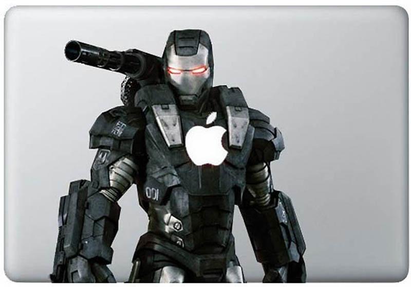 4911 50 креативных наклеек на MacBook